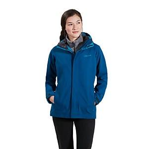 Women's Hillwalker InterActive Waterproof Jacket - Dark Blue