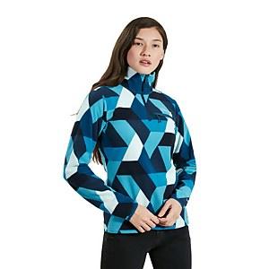 Women's Navala Half Zip Fleece Jacket - Blue