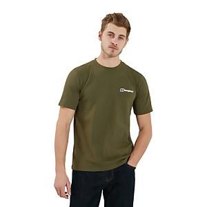Men's Organic Classic Logo T-Shirt - Dark Green