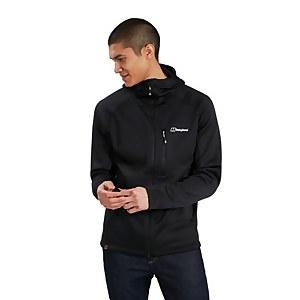 Men's Carnot Hooded Fleece Jacket - Black