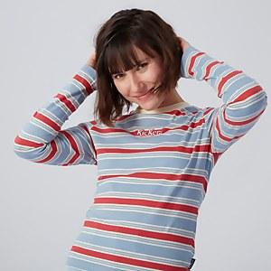 Long Sleeve Stripe Ringer T-shirt