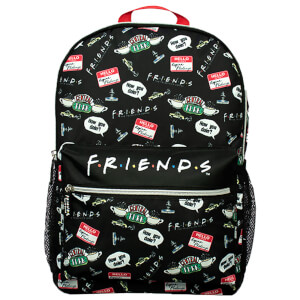 Friends Black AOP Backpack from I Want One Of Those