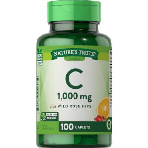 Vitamin C 1000mg + Wild Rose Hips