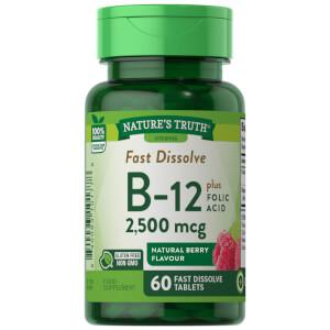 Vitamin B12 2500mcg + Folic Acid