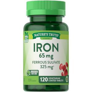 Iron 65mg Ferrous Sulfate 325mg