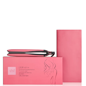 ghd Platinum+ Hair Straightener in Rose Pink