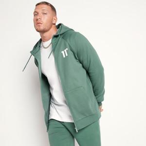 Men's Core Full Zip Hoodie - Elm Green