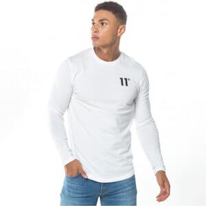 Men's Core Long Sleeve T-Shirt - White