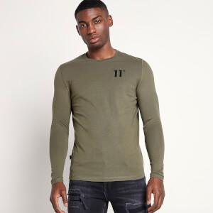 Men's Core Long Sleeve T-Shirt - Khaki