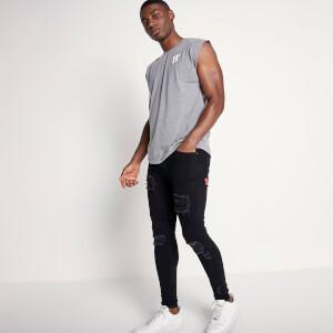Men's Core Cut Off Sleeve T-Shirt - Charcoal Marl