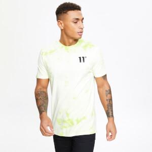 Men's Acid Wash T-Shirt - Avocado Green