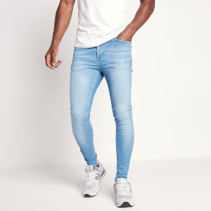 Men's Sustainable Stretch Jeans Skinny Fit - Stone Wash