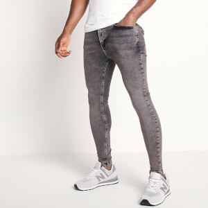 Men's Sustainable Stretch Jeans Skinny Fit - Grey Wash