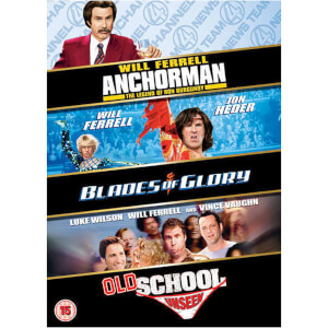 Will Ferrell Triple - Blades Of Glory/Old School/Anchorman