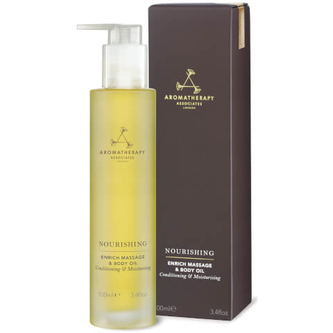 Aromatherapy Associates Enrich Massage & Body Oil 3oz