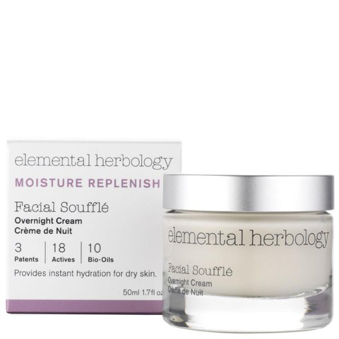 Elemental Herbology Facial Souffle Overnight Cream  50ml