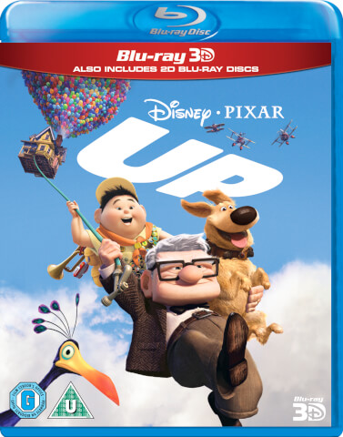 Up 3D (Includes 3D Blu-Ray and Blu-Ray Copy)