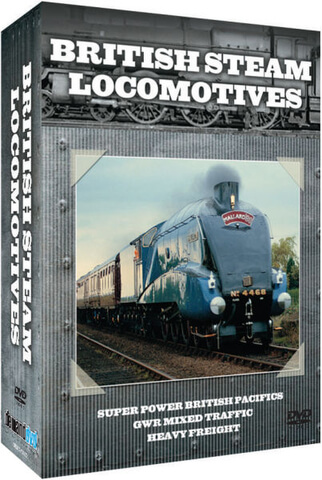 British Steam Locomotives - Triple Pack