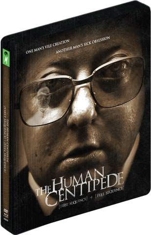 The Human Centipede 1 and 2 - Steelbook de Edición Limitada (Blu-ray y DVD)