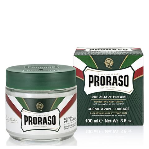 Proraso Pre Shave Cream - Eucalyptus & Menthol