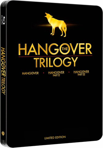 The Hangover Trilogy - Limited Edition Steelbook (Includes UltraViolet Copy)