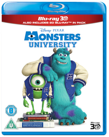 Monsters University 3D (Bevat 2D Versie)