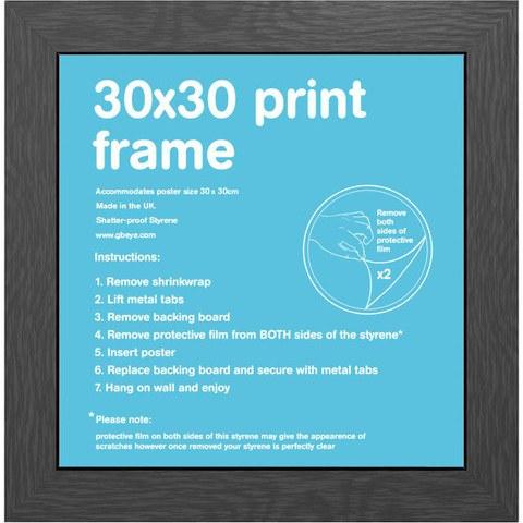 Black Frame - 30 x 30cm