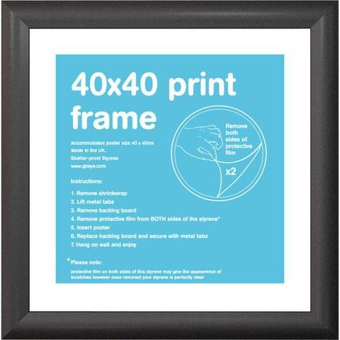 Black Frame 40 x 40cm