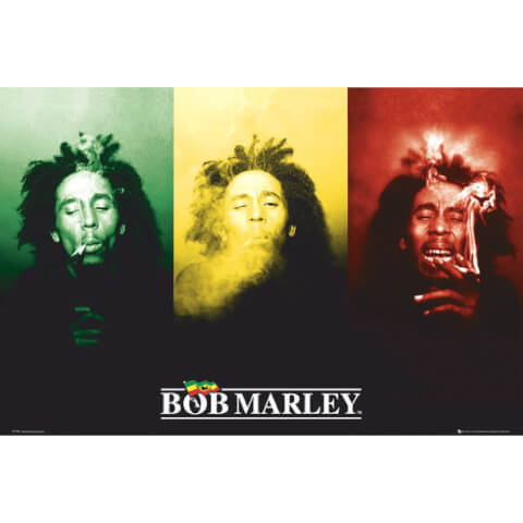 Bob Marley Flag - Giant Poster - 100 x 140cm