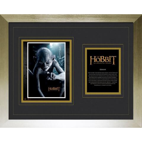 The Hobbit Gollum - High End Framed Photo - 16