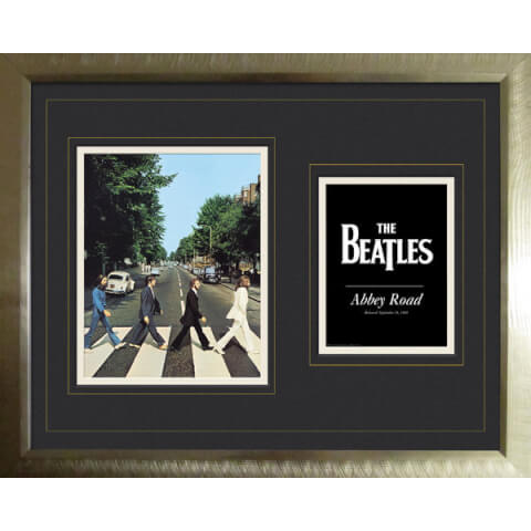 The Beatles Abbey Road - High End Framed Photo - 16