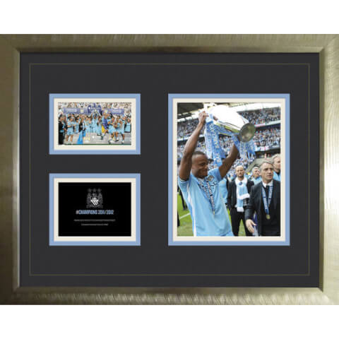 Manchester City Premier League Winners 11/12 - High End Framed Photo - 16
