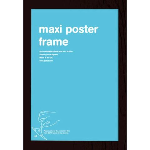 Black Frame Maxi - Maxi Frame- 61 x 91.5cm