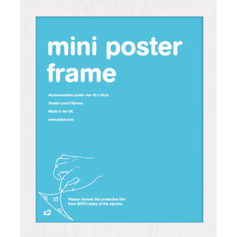 White Frame Mini - 43 x 50cm