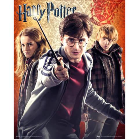 Harry Potter 7 Trio - Mini Poster - 40 x 50cm