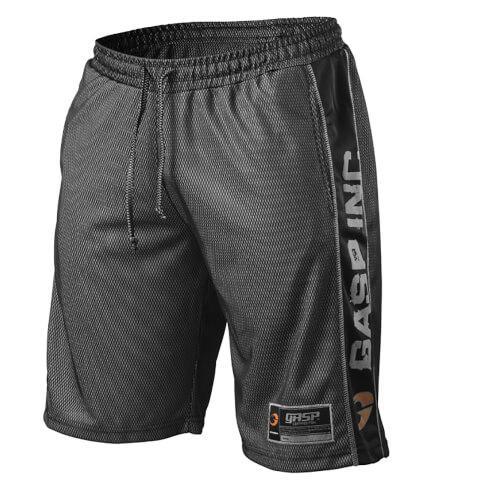 GASP No1 Mesh Shorts - Black