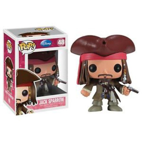 Disney Pirates Of The Caribbean Jack Sparrow Funko Pop! Figuur