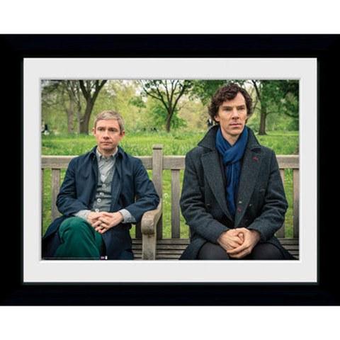 Sherlock Park Bench - 30 x 40cm Collector Print