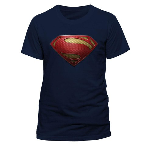 Man of Steel Men's T-Shirt - Textured Logo