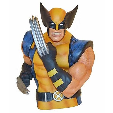 Tirelire Buste Marvel Wolverine