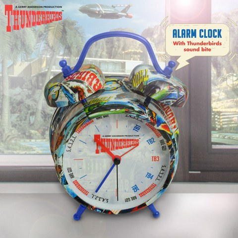 Reloj Despertador Thunderbirds - Multi