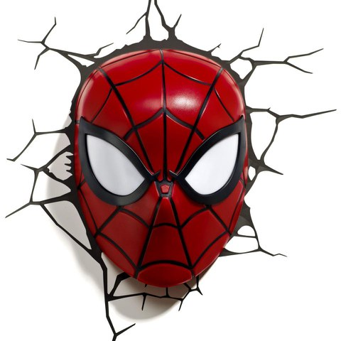 Marvel Spider-Man Mask 3D Light