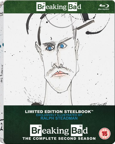 Breaking Bad: Season 2 - Zavvi Exclusive Limited Edition Steelbook (Includes UltraViolet Copy) (UK EDITION)