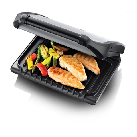 George 19920 Foreman Family Grill - Silver