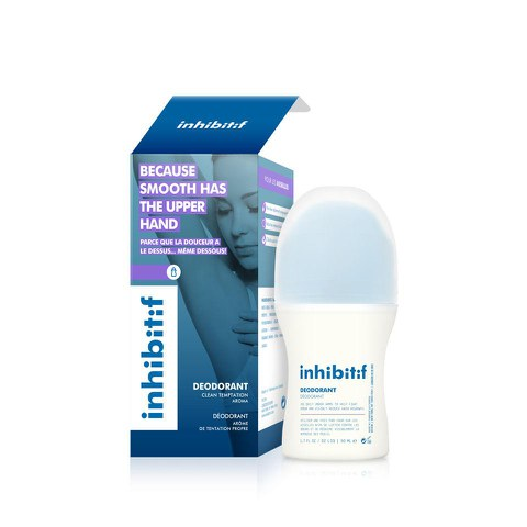 INHIBITIF Hair-Free Deodorant Kinetic Energy (50ml) (Clean Temptation)