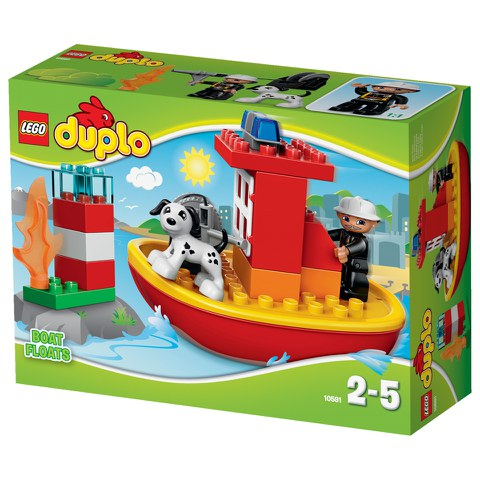 LEGO DUPLO: Town Fire Boat (10591)