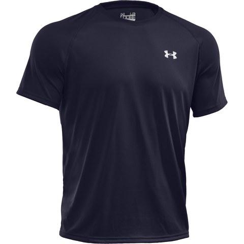 T-Shirt Homme Manches Courtes Under Armour Tech™ - Bleu Marine