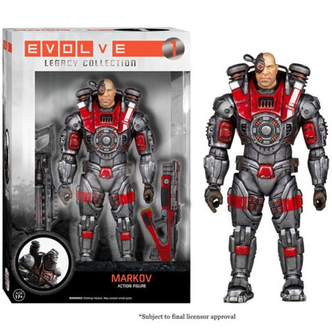 Evolve Legacy Collection Actionfigur Markov