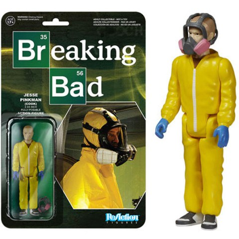 Breaking Bad ReAction Actionfigur Jesse In Cook Suit