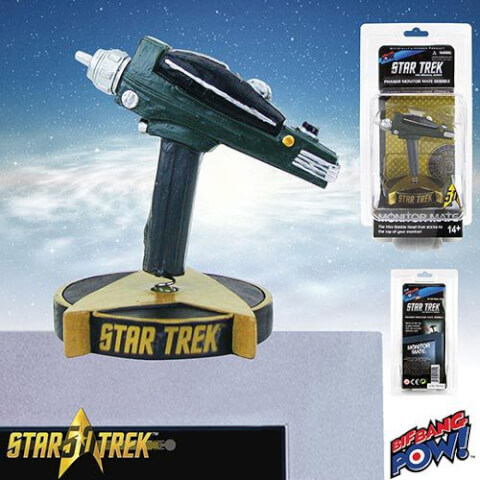Star Trek TOS Cabezón Monitor Mate Phaser